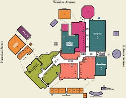 Centre Bell Floor Plan Kahala Mall
