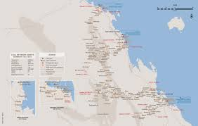 Coal Map Of The World by Network Aurizon
