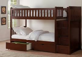 Cherry Bunk Bed Rowe Cherry Bunk Bed With Reversible Step Storage And Storage