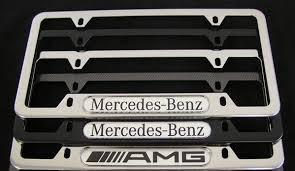 mercedes license plate holder amg license plate frames