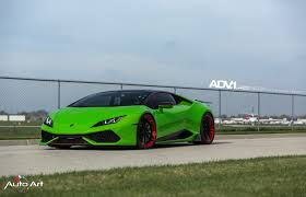 Lamborghini Huracan Green - this snake will blow your mind huracan with adv 1 u0027s installed