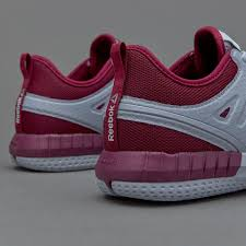 reebok womens zprint 3d cloud grey rebel berry poison pink