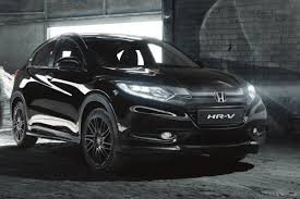 nissan leaf black edition honda hr v gets black edition treatment auto express