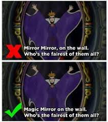 Mirror Mirror On The Wall Snow White The Mandela Effect On Tv Movies And Video Games U2013 These Crazy Times