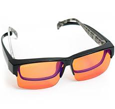 blue light prescription glasses amazon com fitover anti blue blocking computer glasses fits over