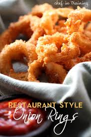 best onion rings images Restaurant style onion rings chef in training jpg
