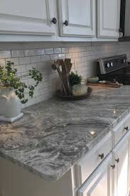 brown granite countertops cabinets with laminate countertops