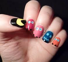 best 25 pac man nails ideas on pinterest cartoon nail designs
