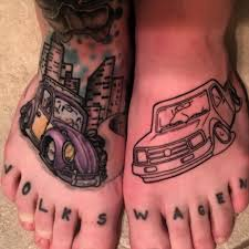 car enthusiast tattoo foot tattoo ideas chhory tattoo