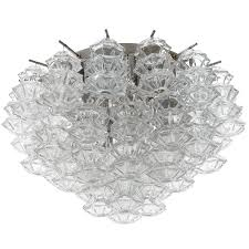 Crystal Flush Mount Lighting One Of Four Kalmar Flush Mount Lights