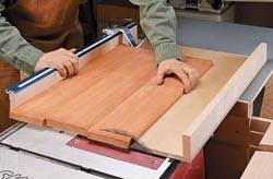 how to build a table saw workstation tablesaw workstation woodworking plans and information at