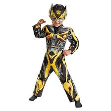 Halloween Bee Costume Transformers Age Extinction Toddler Boys U0027 Bumblebee Costume 3t