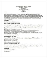 Facility Executive Resume 59 Executive Resume Templates Free U0026 Premium Templates