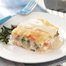 vegetarian lasagna alfredo recipe taste of home