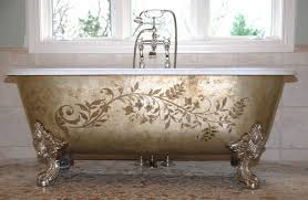 Retro Bathtubs Clawfoot Bathtubs Vintage Slipper 61inch Castiron Clawfoot Tub