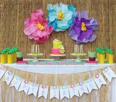 hawaii birthday party ideas photo 1 of 27 catch my party