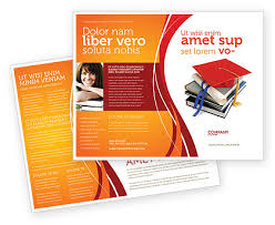 educational brochure design templates info