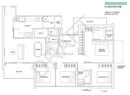 5 bedroom floor plan the criterion ec floor plans