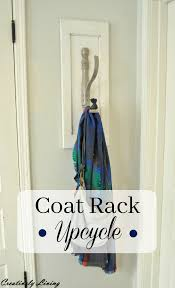 how to make junk cool upcycled coat rack creatively living blog how to make junk cool upcycled coat rack