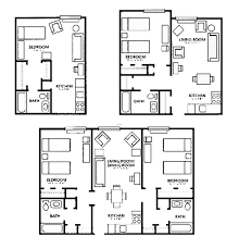 Apartment Design Plans Apartment Floor Plan Delectable Interior Home Design Study Room