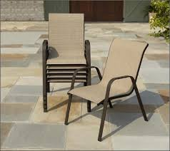 Stackable Sling Chairs Sling Back Stackable Patio Chairs Patio Outdoor Decoration