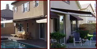 Motorized Awning Windows Retractable Fabric Awnings Riverside San Bernardino Orange