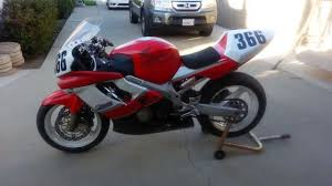 used cbr 600 for sale 2000 honda cbr600 f4 race bike for sale youtube