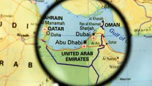 uae map world map uae beating ok just don t leave any marks cbs news