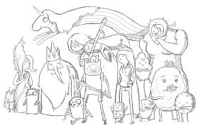 printable adventure time coloring pages olegandreev me