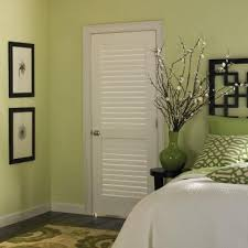 louvered doors home depot interior masonite 30 in x 80 in plantation smooth louver solid
