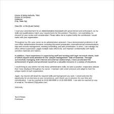 administrative cover letter template 28 images best 25