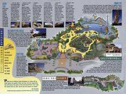map of california adventure insights and sounds california adventure at 15 now then