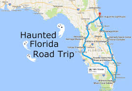Port St Lucie Fl Map Take This Awesome Road Trip To Florida U0027s Most Haunted Places