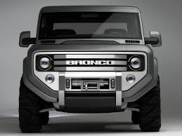 Fords New Bronco Ford Bronco Photos Photogallery With 13 Pics Carsbase Com