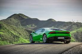 Lamborghini Huracan Back View - lamborghini huracan lp 610 4 first test motor trend