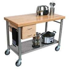 white kitchen island cart granite top trolley with butcher block
