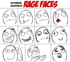 complete collection of rage faces 10 pics