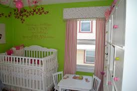 Green Nursery Decor Bright Baby Nursery Room Ideas With Comely Lime Green Trees Decal