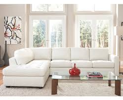 Denver Leather Sofa Denver White Leather Sectional With Chaise By Natuzzi My