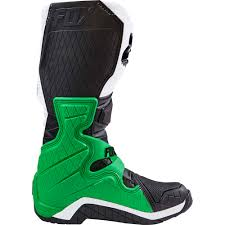 motocross boots size 8 new fox racing 2017 mx comp 8 le white black green monster