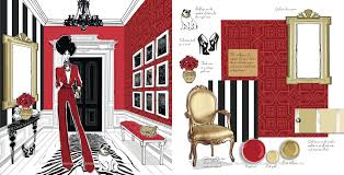 home fashion interiors fashion house illustrated interiors from the icons of style