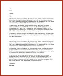 how to write professional reference letter 7 professional