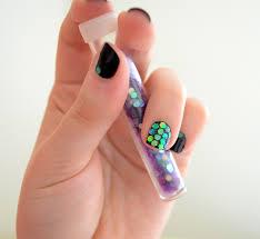 tape nail art nail art