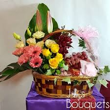 fruits and blooms basket flowers and fruits basket 1