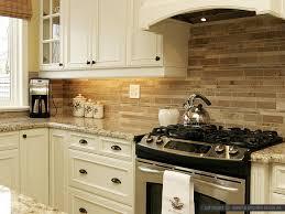 kitchen beige subway tiles travertine subway kitchen backsplash