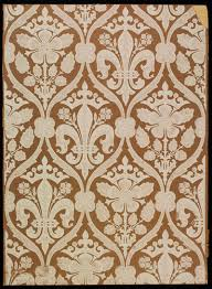 Block Print Wallpaper Wallpapers Recreating Historic Designs Ross Bay Villa
