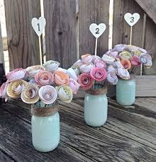 Vintage Centerpieces For Weddings by Best 25 Paper Flower Centerpieces Ideas On Pinterest Flowers