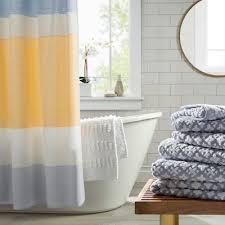 Target Gray Shower Curtain Light Stripe Shower Curtain 72