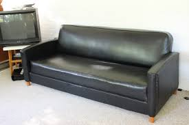 Sofa With Swivel Chair New U201d Thrifted Vintage Vinyl Sofa And Swivel Chairs No Pattern