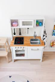 ikea kitchen cabinet hacks ikea hack a scandinavian inspired play kitchen happy grey lucky